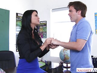 Jasmine Jae Seduces Hung Student