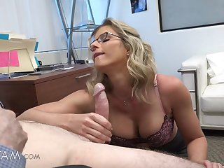 Admirable deport oneself fantasy with horny mommy Cory Chase