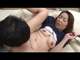 Japonese Mother In Impersonate And Stepson 120